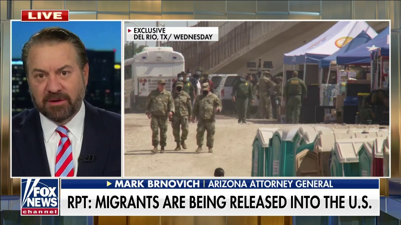 Arizona AG: Toughest decision for migrants is picking their taxpayer-funded bed