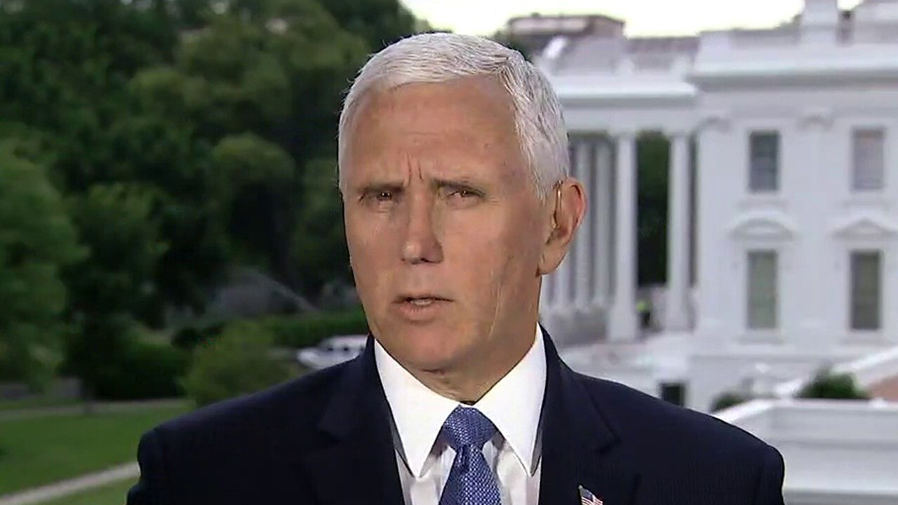 Vice President Pence talks executive order on police reform, preparations for Tulsa rally, COVID-19 spikes