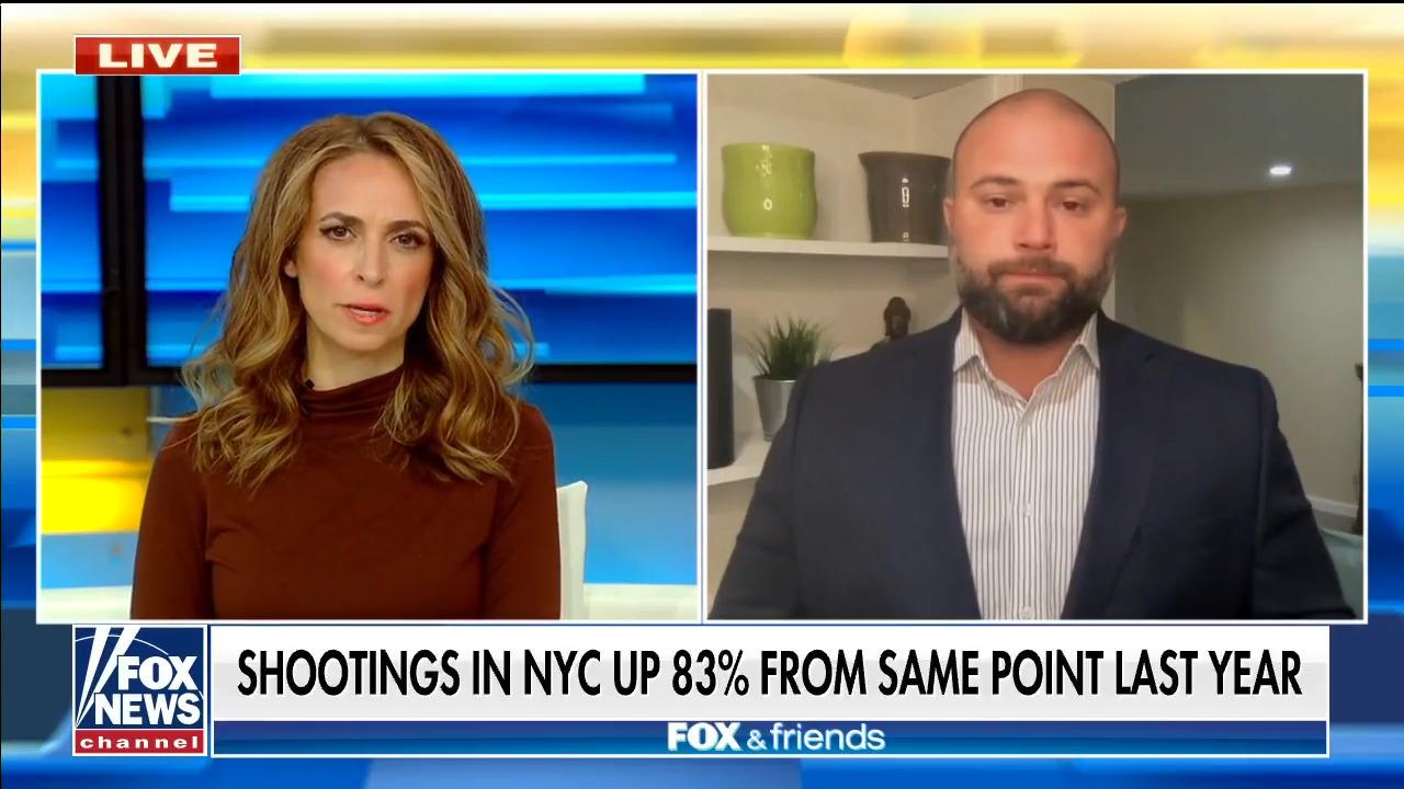 NYC Councilman Joe Borelli reacts to 'deeply disturbing' crime stats