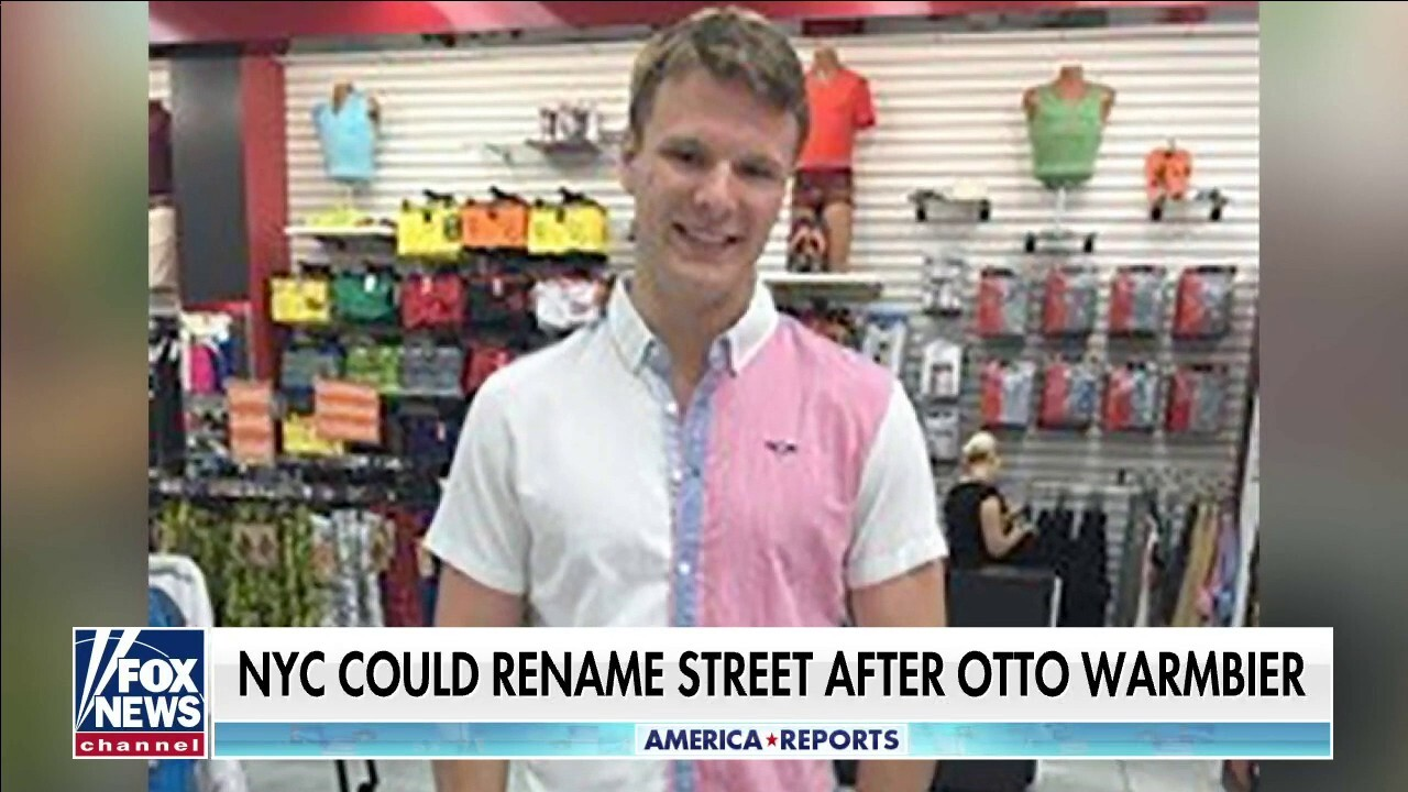 Eric Shawn: 'Otto Warmbier Way'