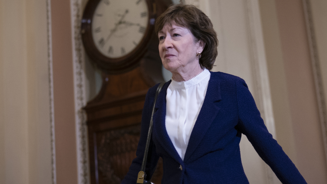 Republican Susan Collins, key swing-vote senator, announces she will vote to acquit Trump