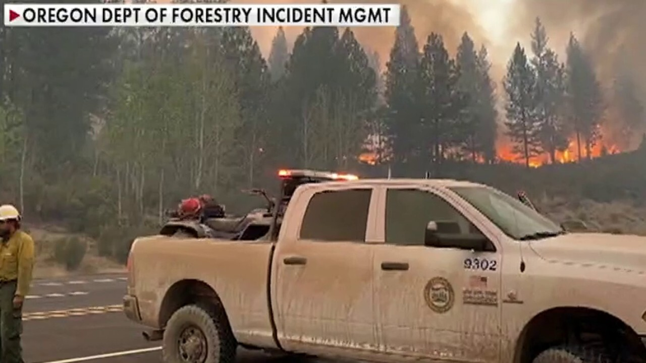 Over 500K people in Oregon under evacuation order amid wildfires