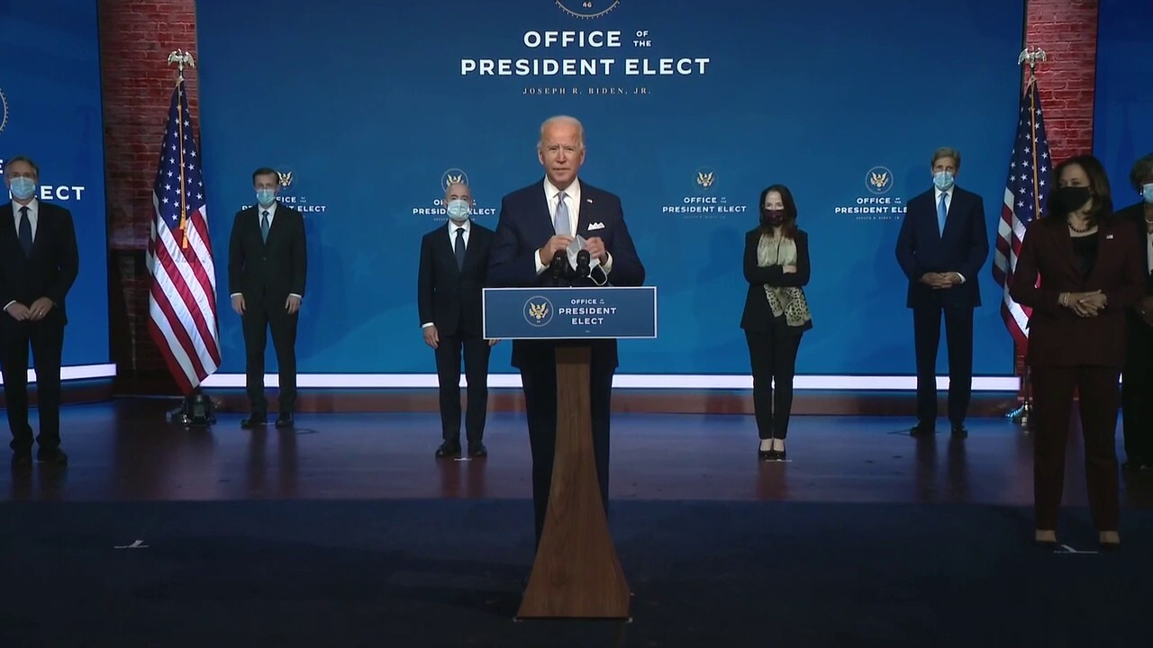 Joe Biden formally unveils national security, foreign policy team