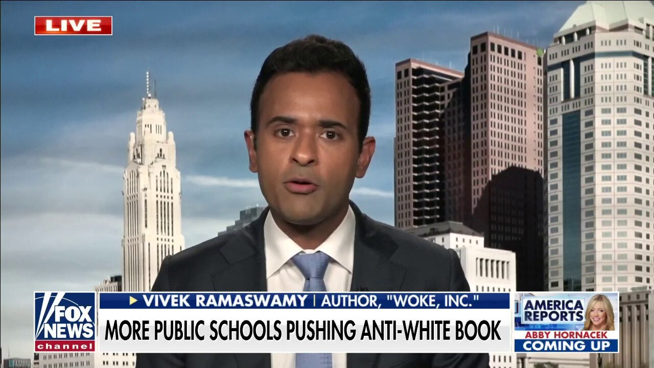 Vivek Ramaswamy: Kids being taught to see race is a 'toxic ideology'