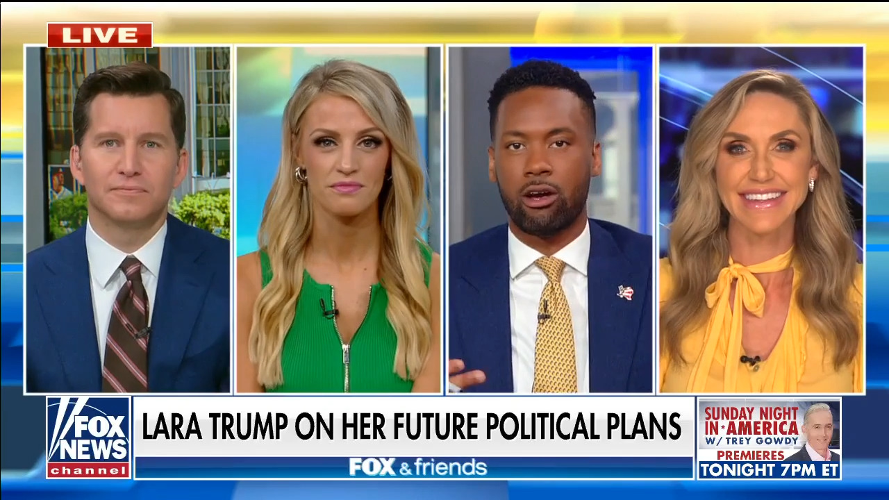 Lara Trump on the GOP's 'huge chance' to win back the House in 2022
