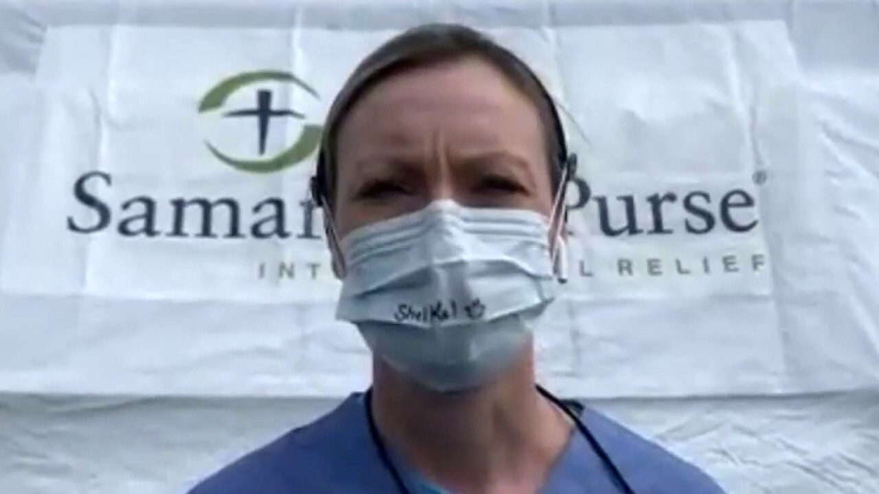 Nurse opens up about working at NYC field hospital