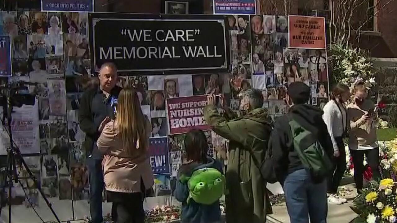 NY memorial honors 15,000+ COVID nursing home deaths