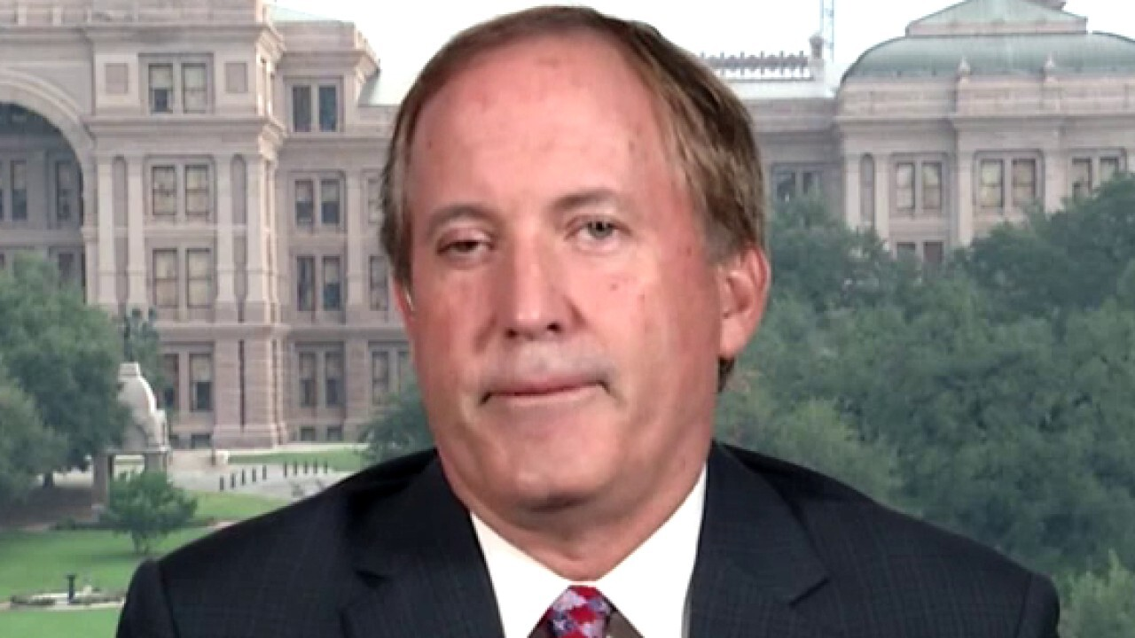 Ken Paxton reacts to Texas governor fighting calls to defund police
