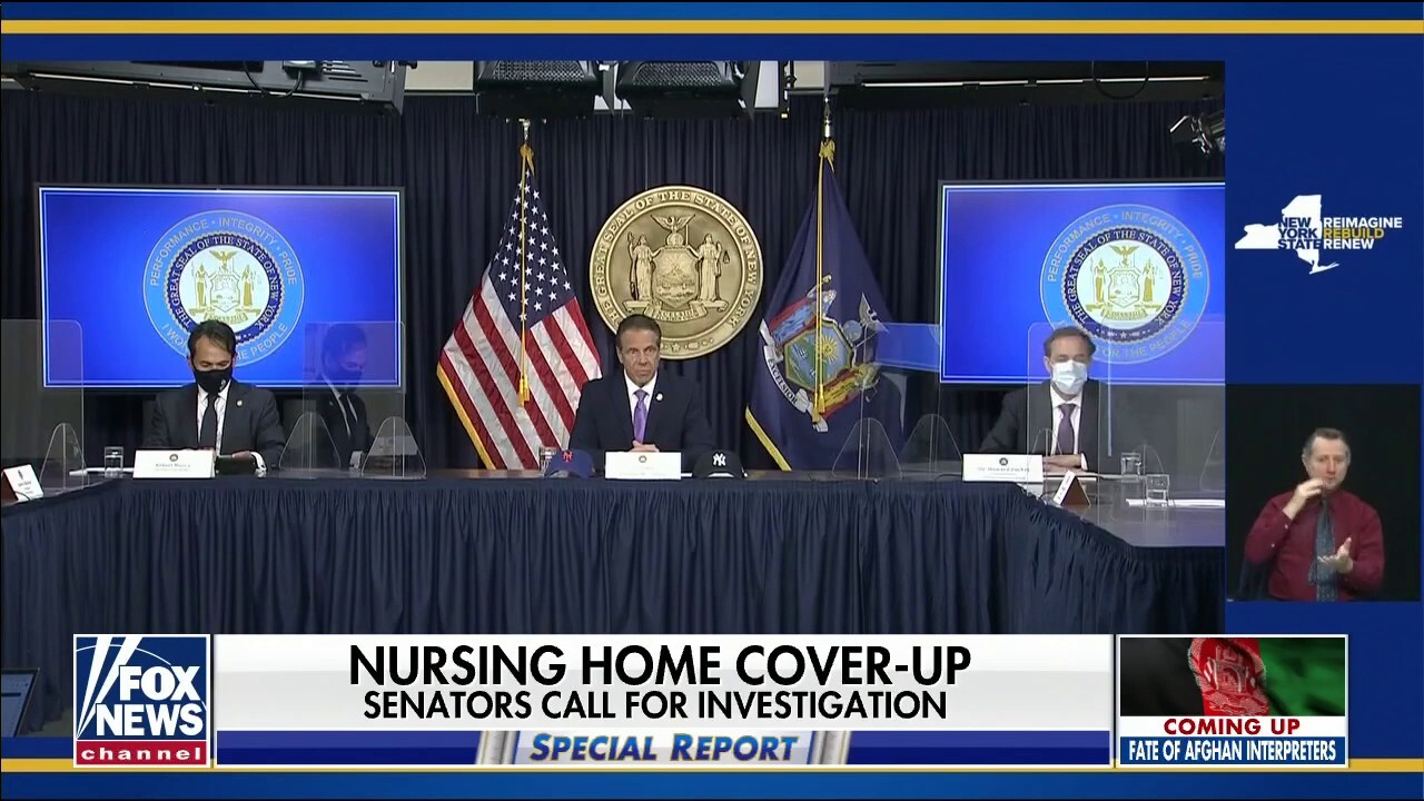 Governor Cuomo doubles down on COVID 'cover-up'