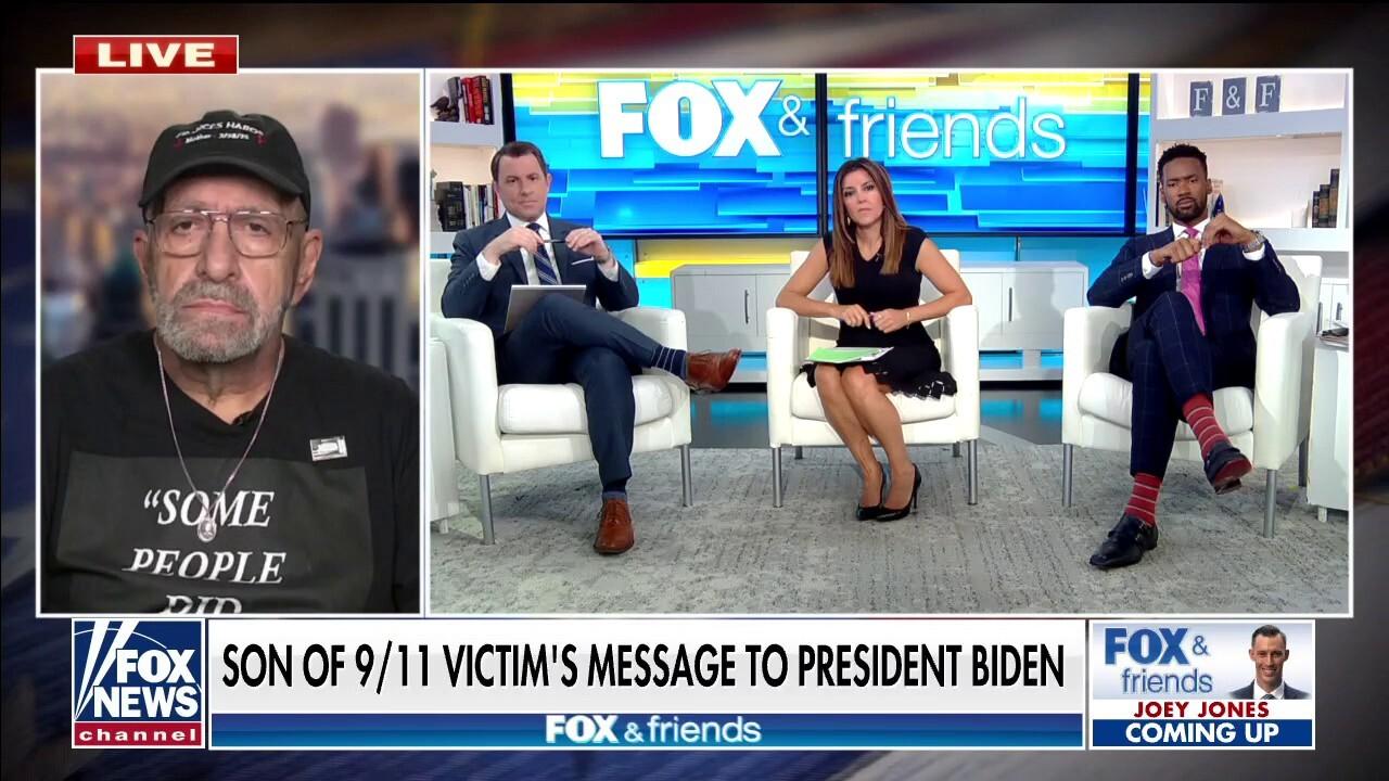 Son of 9/11 victim urges Biden to avoid memorials: 'Killer-in-chief'