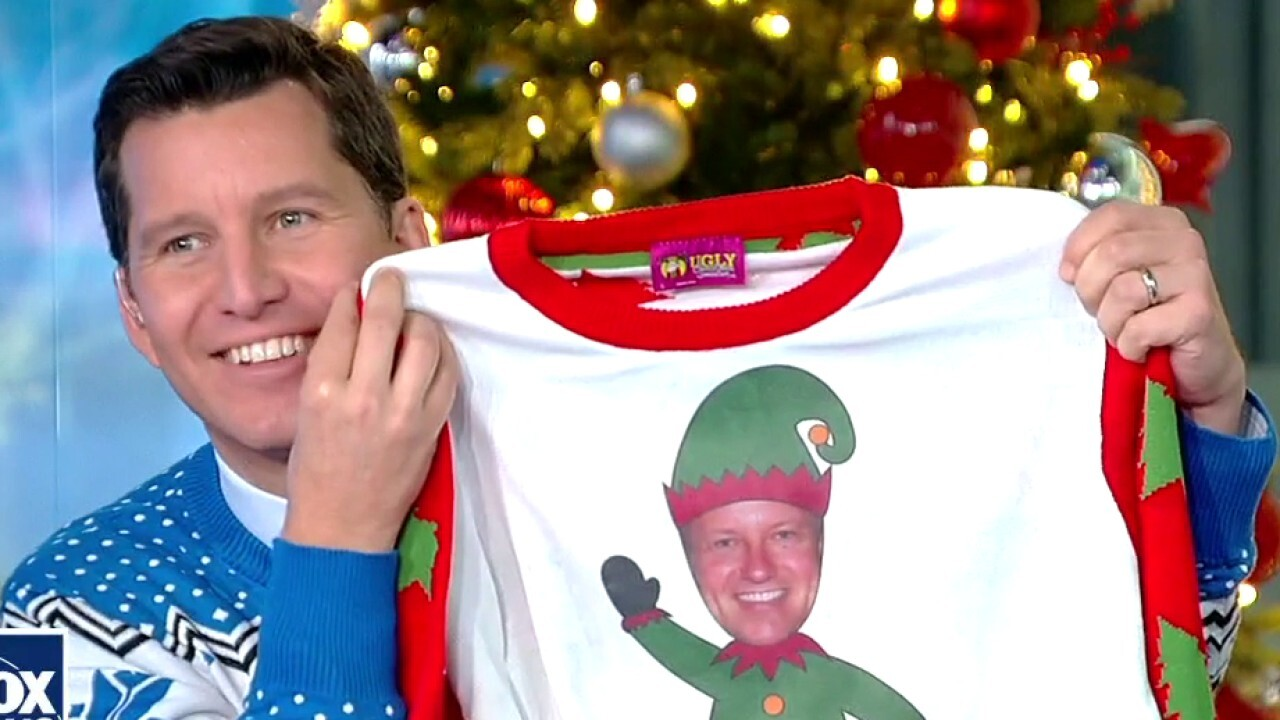 'Fox & Friends' crew model 'ugly' Christmas sweaters