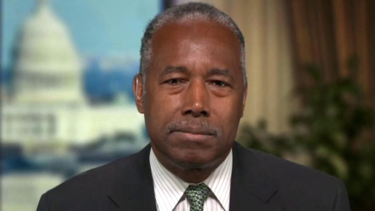 Ben Carson warns of 'consequences' of Biden's big spending plans