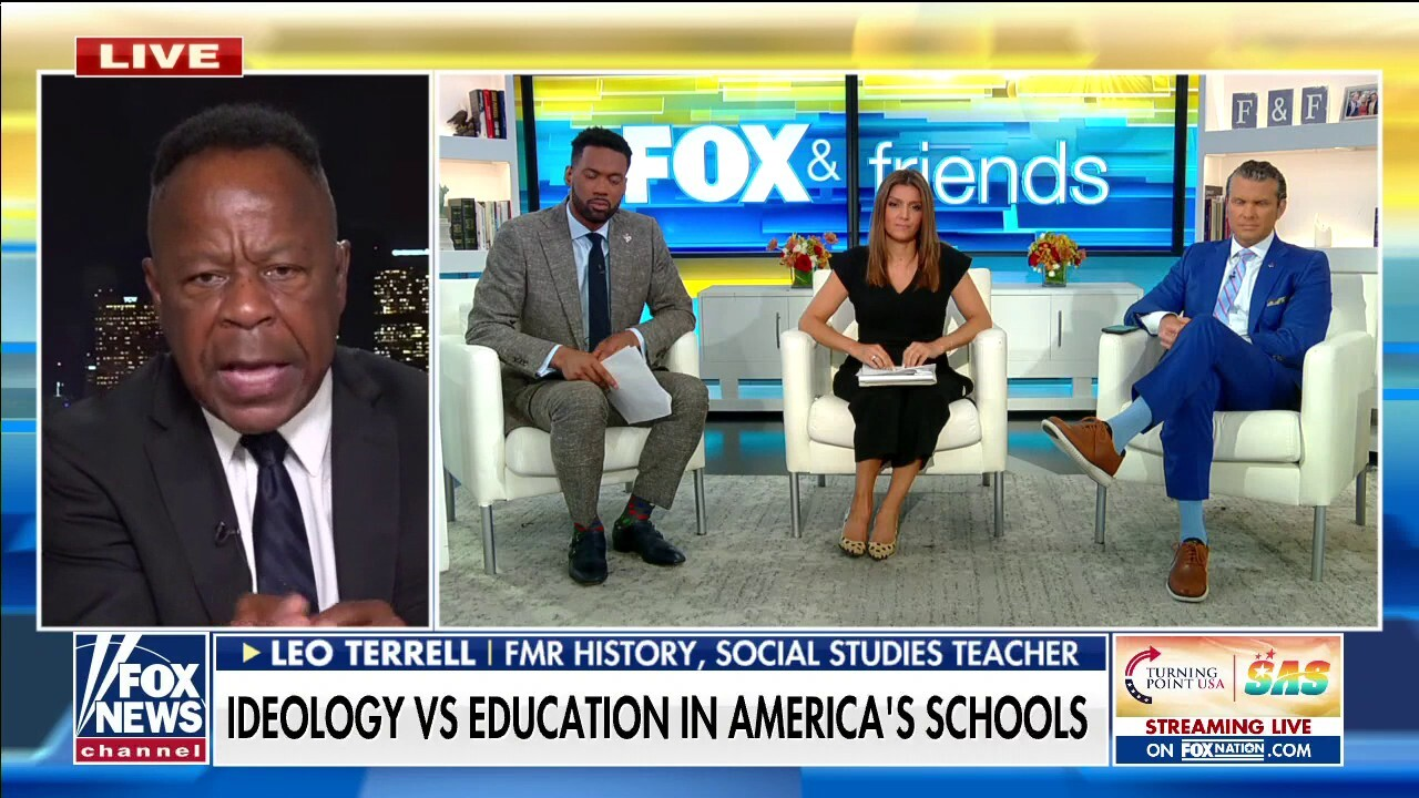 Former educator Leo Terrell on critical race theory, says 'school choice is the only way to go'