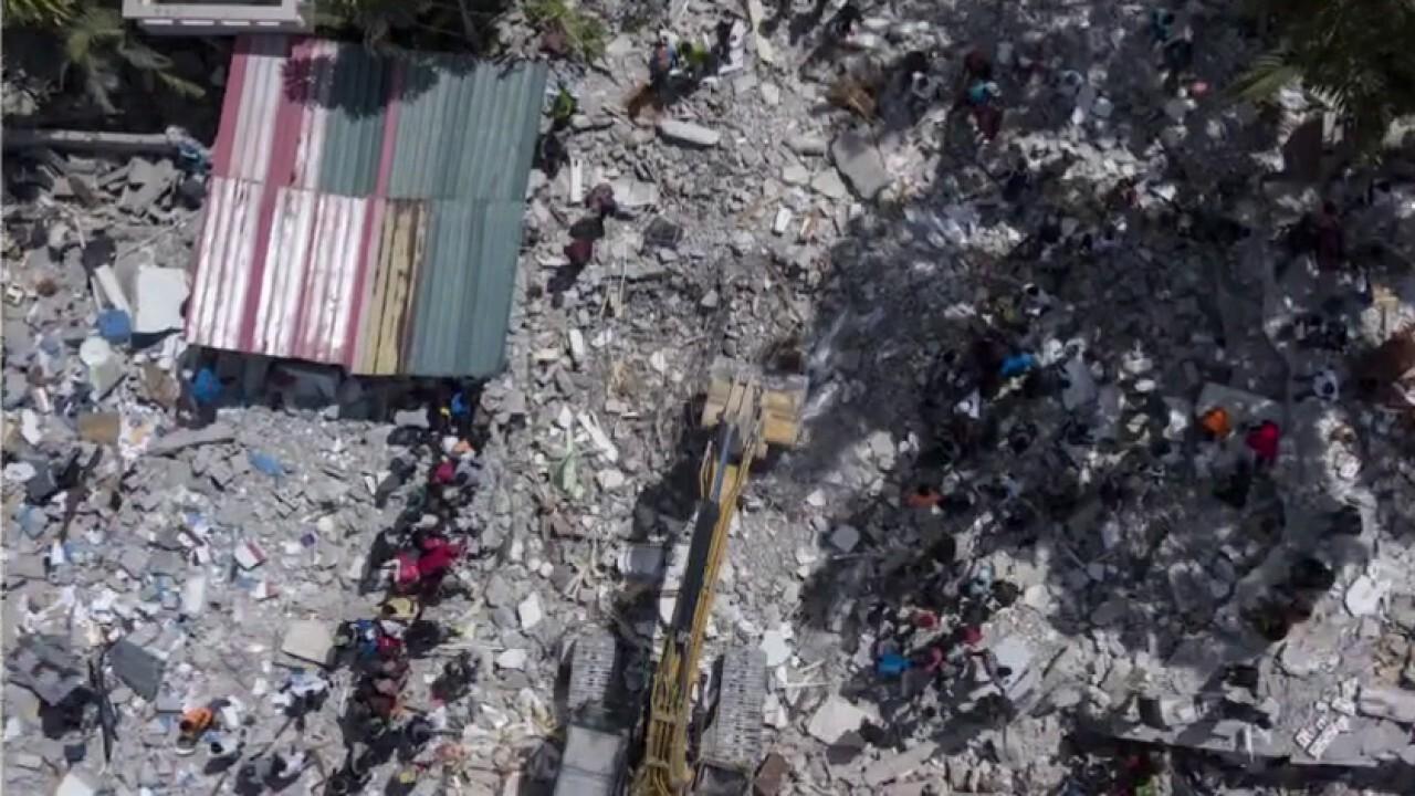 Haiti earthquake leaves over 1400 dead