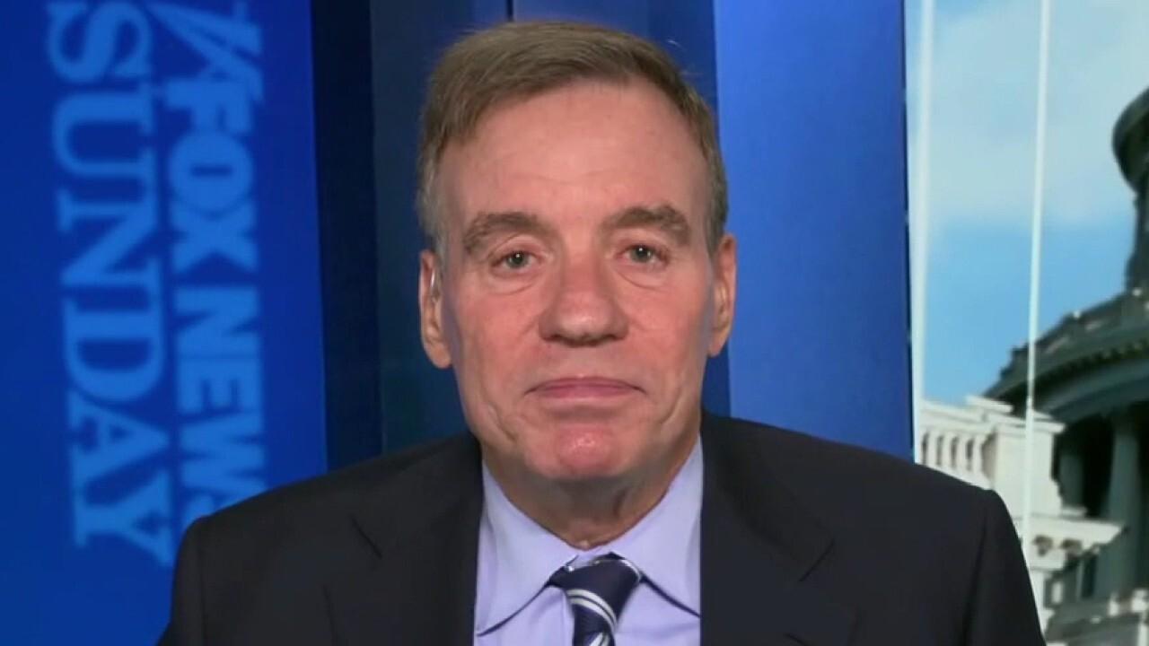 Sen. Mark Warner, D-Va., discusses infrastructure bill and Senate filibuster on 'Fox News Sunday'