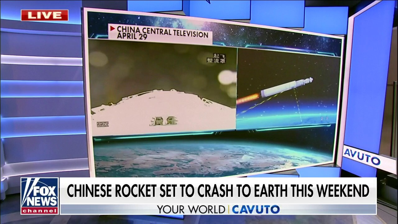 Chinese rocket headed straight toward earth