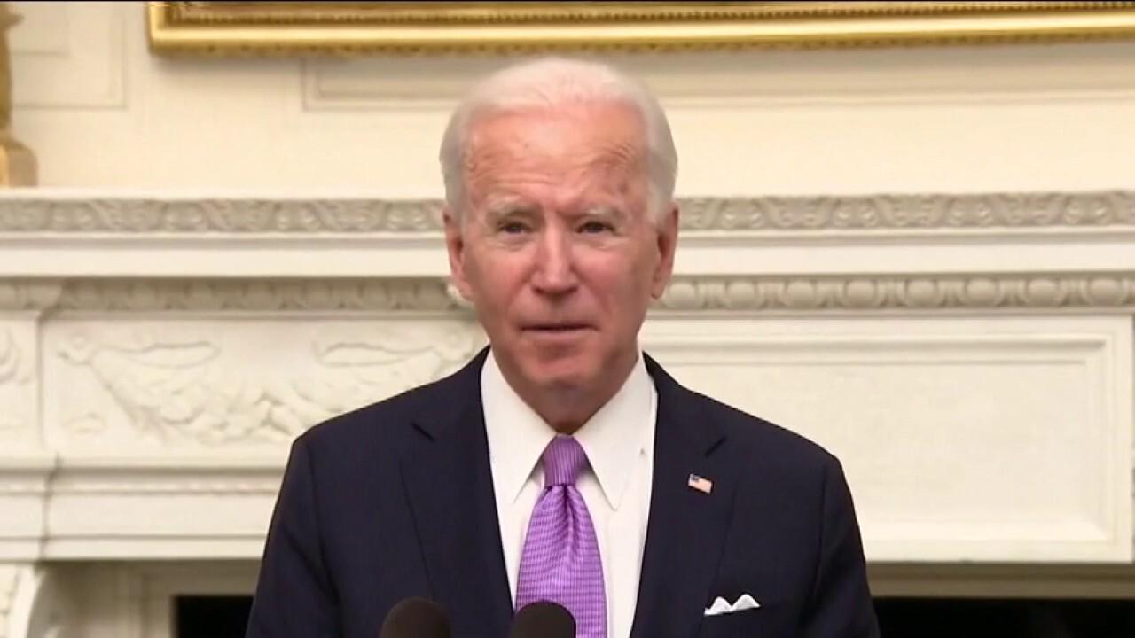 Biden blunders through first week as media treats him like superhero