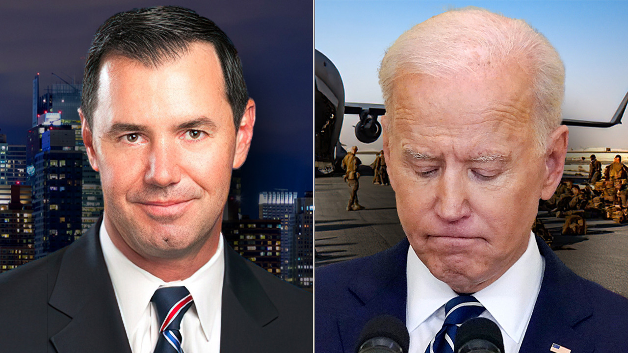 Joe Concha: 'Absentee President' Biden reaches a turning point as chaos erupts in Afghanistan