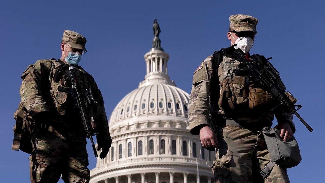FBI vetting all 25,000 guard troops in D.C.