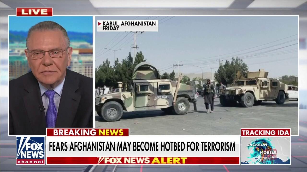 General Jack Keane knocks Jake Sullivan's 'stunning' admission during CNN interview