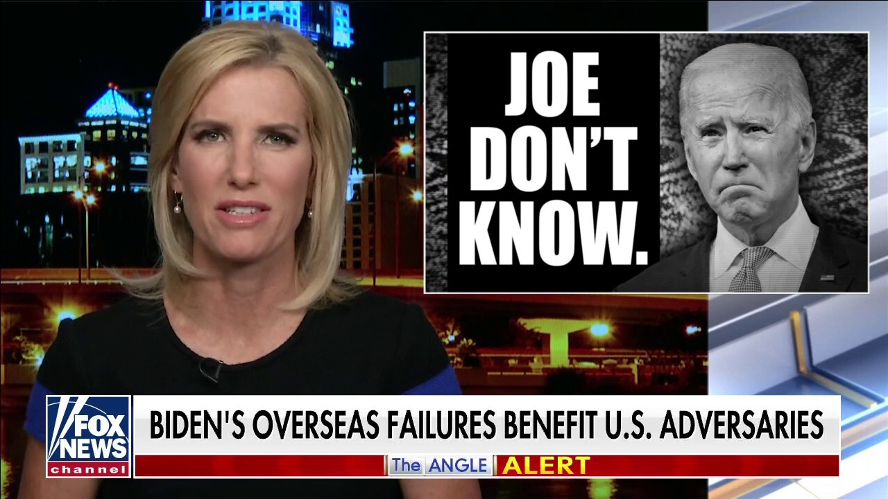 Ingraham: Joe Don't Know; President Biden's first foreign trip was an unmitigated disaster