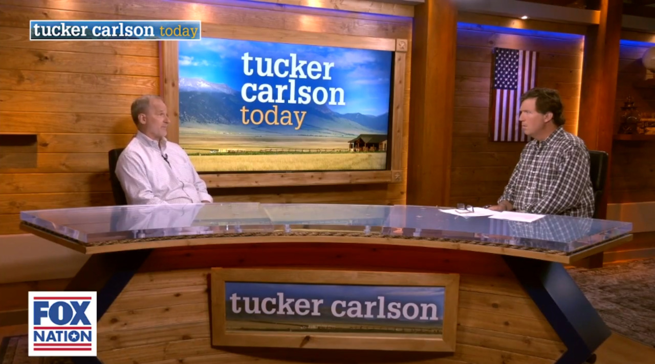Tucker Carlson to Glenn Ellmers: Government using 'hysteria' as distraction