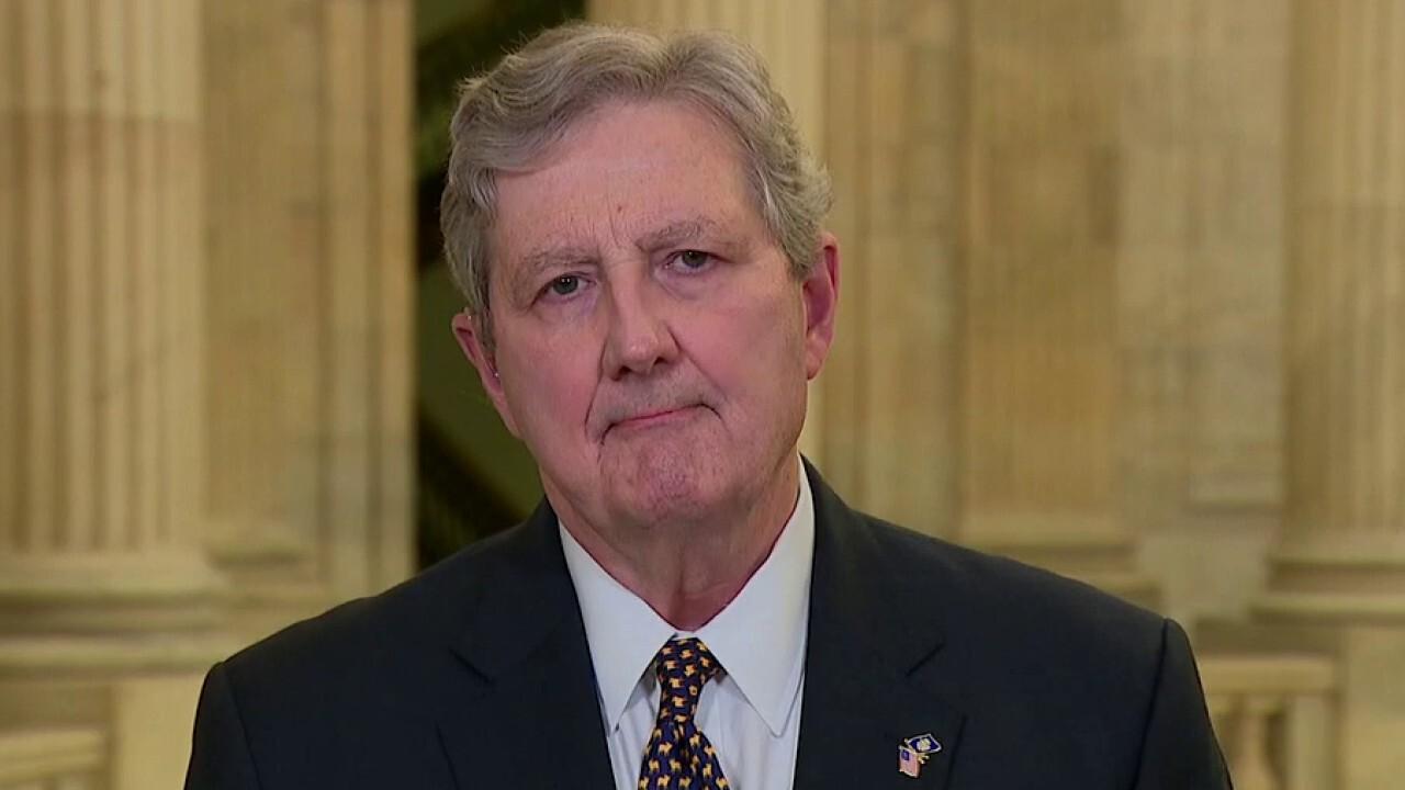 Sen. Kennedy shreds Biden over border crisis