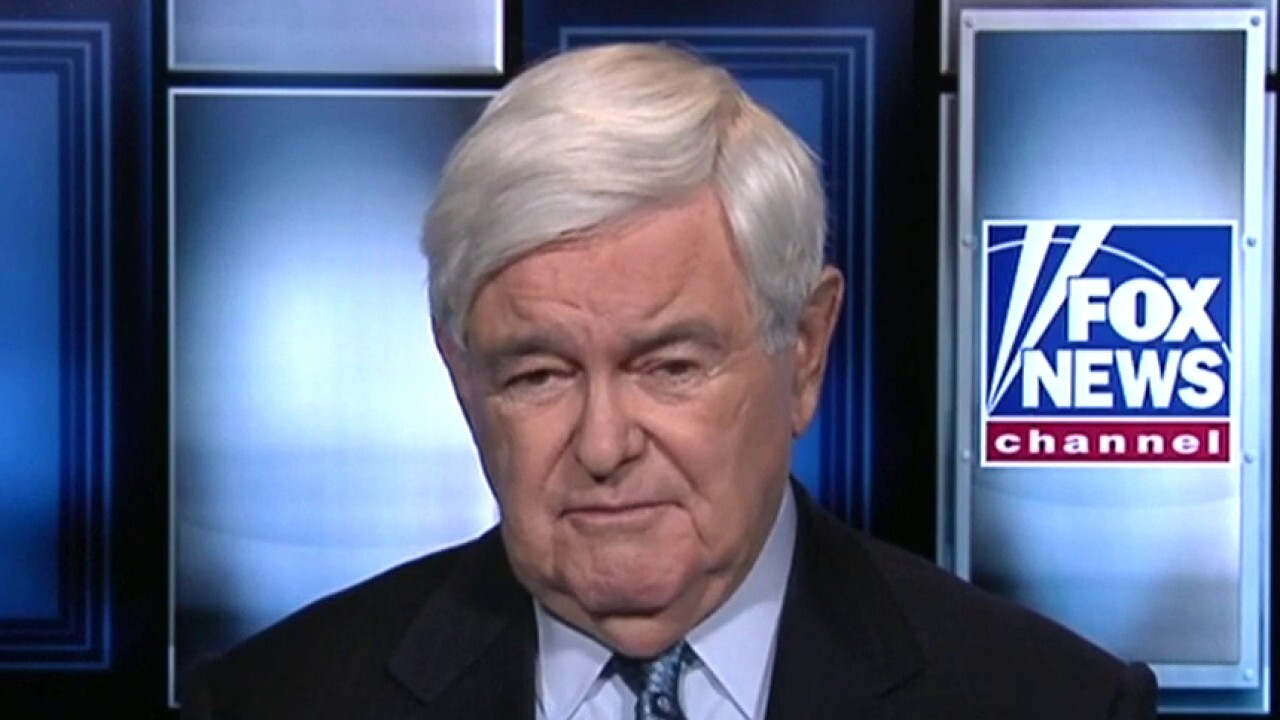 Newt Gingrich says race for Democratic presidential nomination is 'basically over'