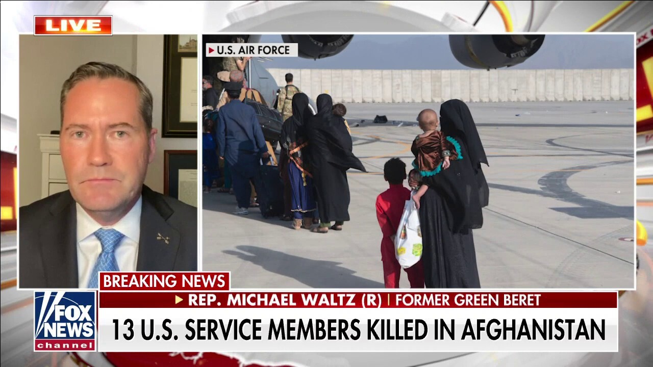Rep. Michael Waltz: 'Iran hostage situation will look like a sleepover compared to Afghanistan'