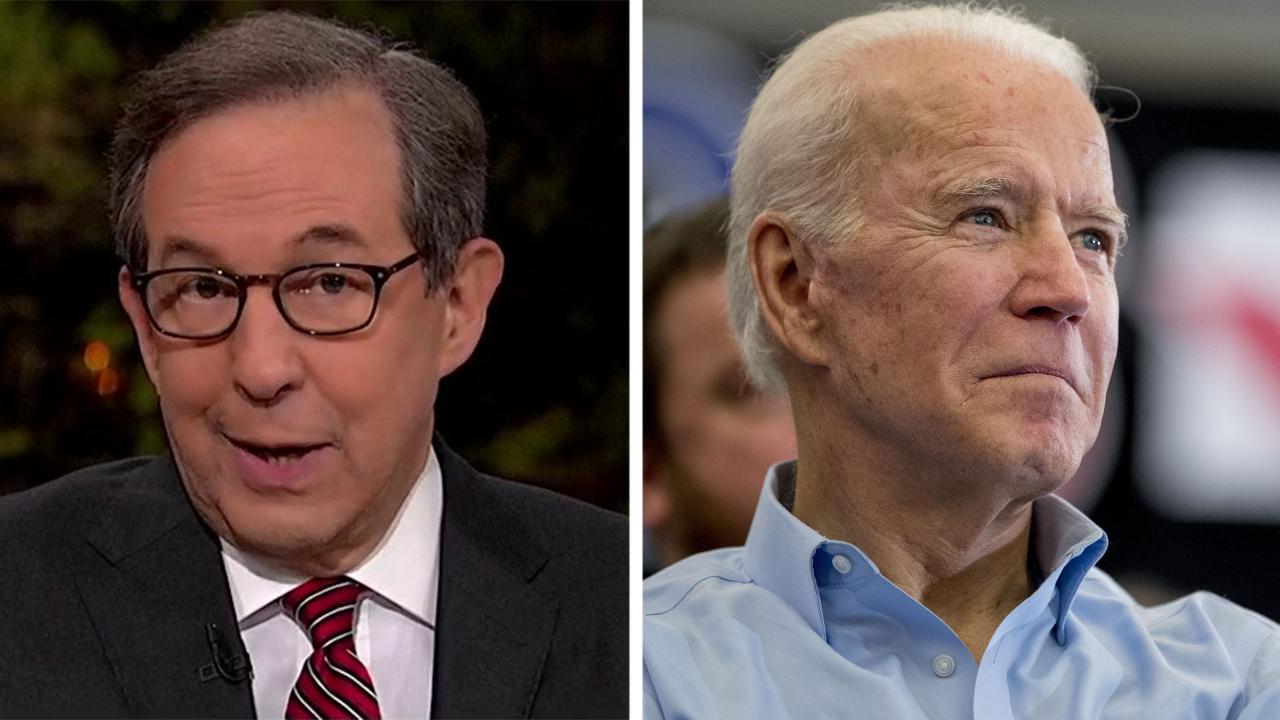 Chris Wallace: Joe Biden is in serious trouble