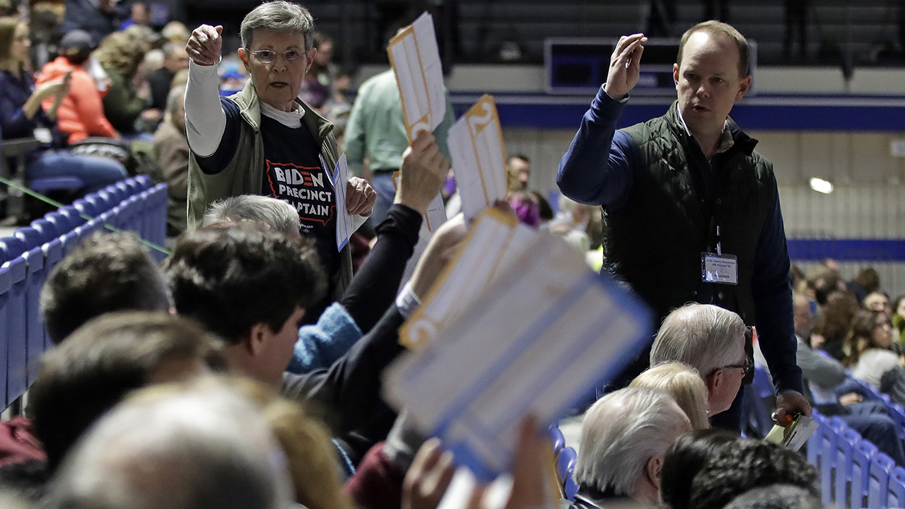 62 percent of Iowa caucus result in after delay cause by app malfunction