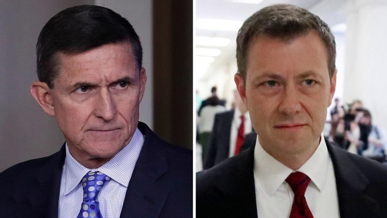 Docs show Strzok told FBI not to close Flynn probe after memo said 'no derogatory information' was found