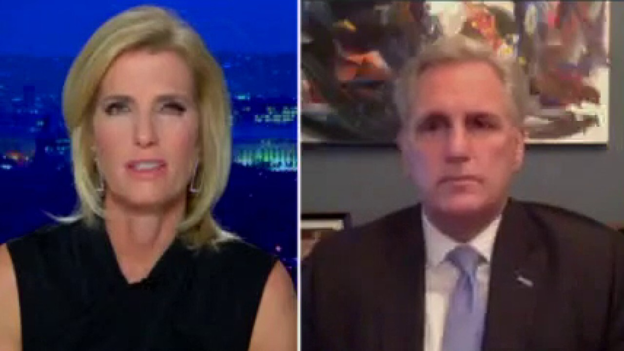 McCarthy: I urged Trump to condemn violence when Capitol was 'overrun'