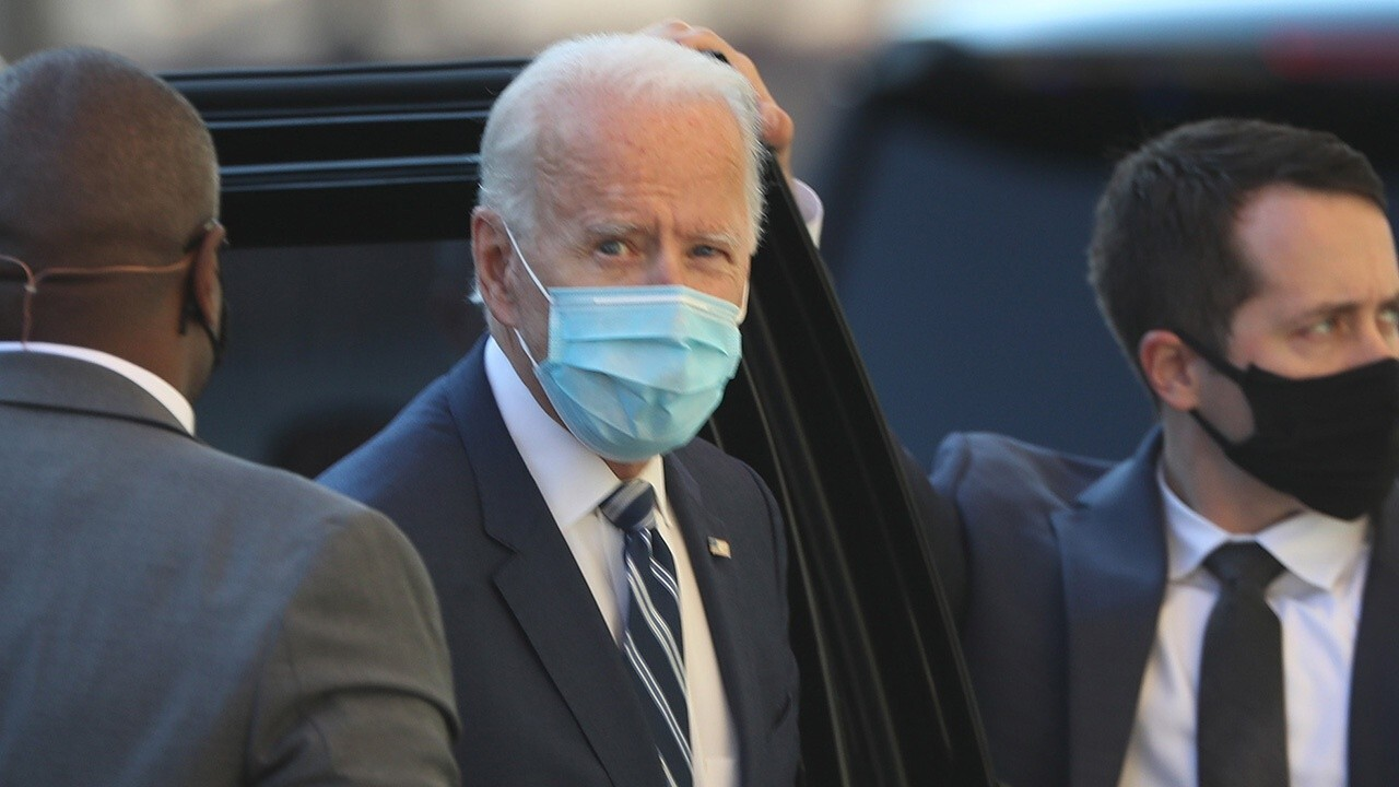 Biden joked about running over a reporter who asked about Israel