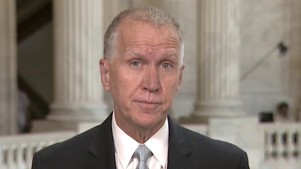 Sen. Tillis on police reform bill: Democrats are putting 'future George Floyds at risk'