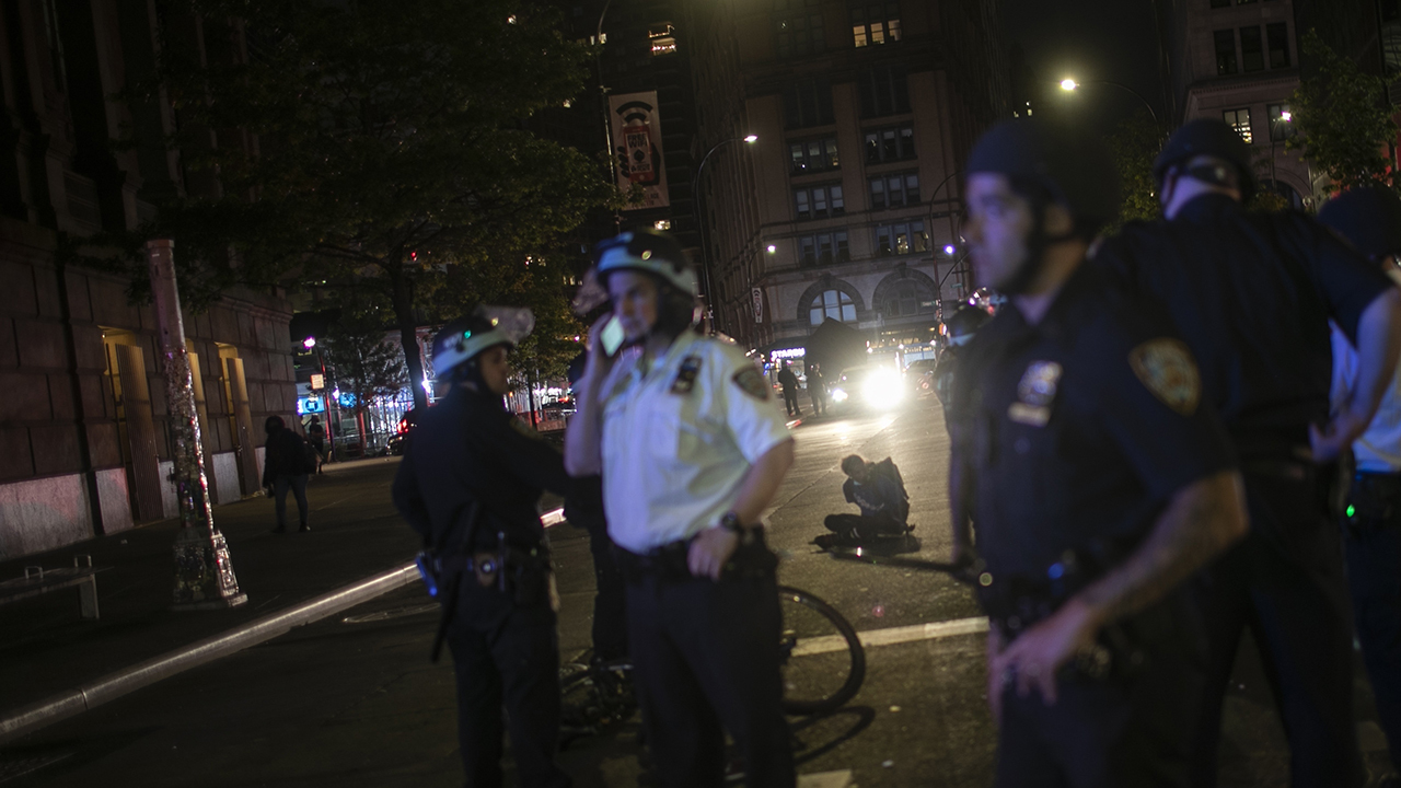 Early curfew in NYC brings quieter streets, calmer protests