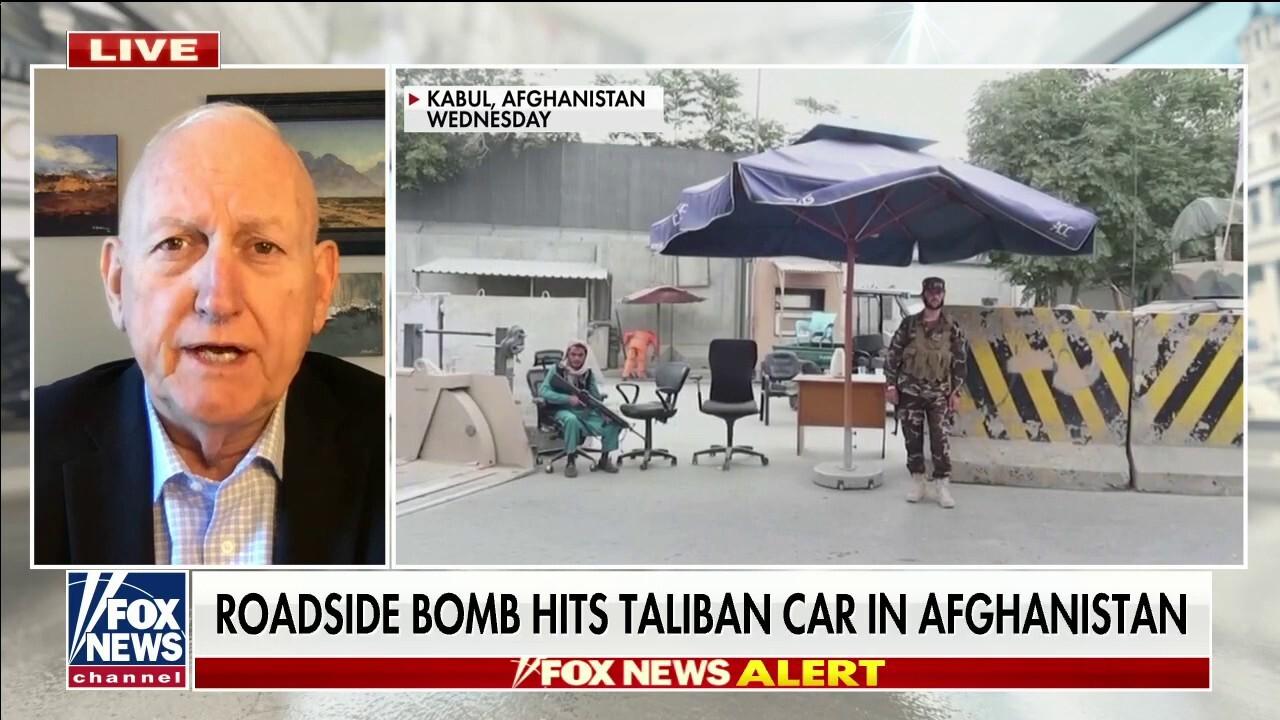 Roadside bomb hits Taliban car in Afghanistan