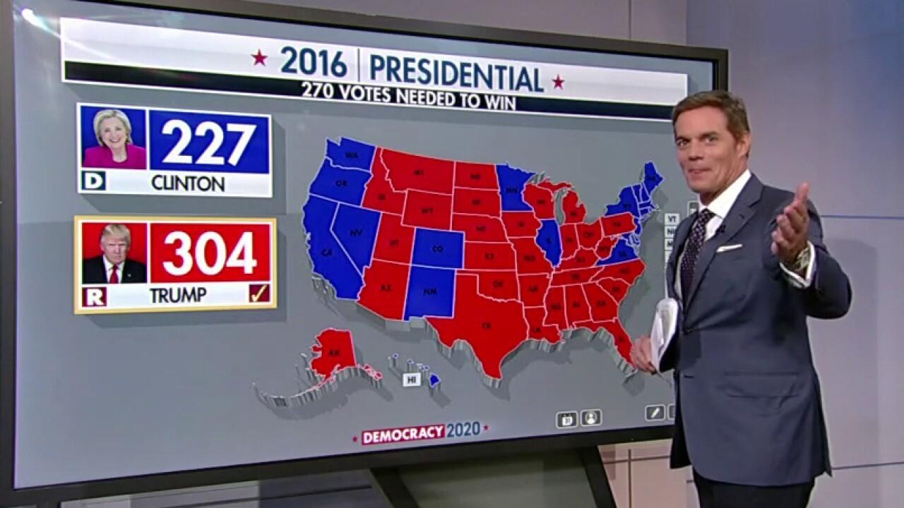 'Stunning numbers': Trump focuses campaign on 2016 'near misses'