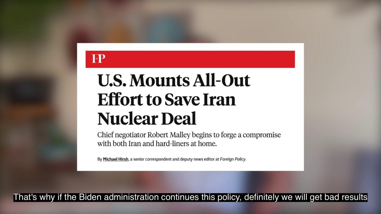 Former Iranian prisoner speaks out against Biden admin Iran policy