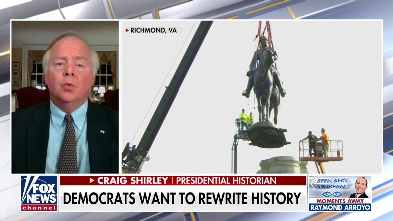 Democrats destroy Robert E. Lee statue in effort to achieve 'healing'