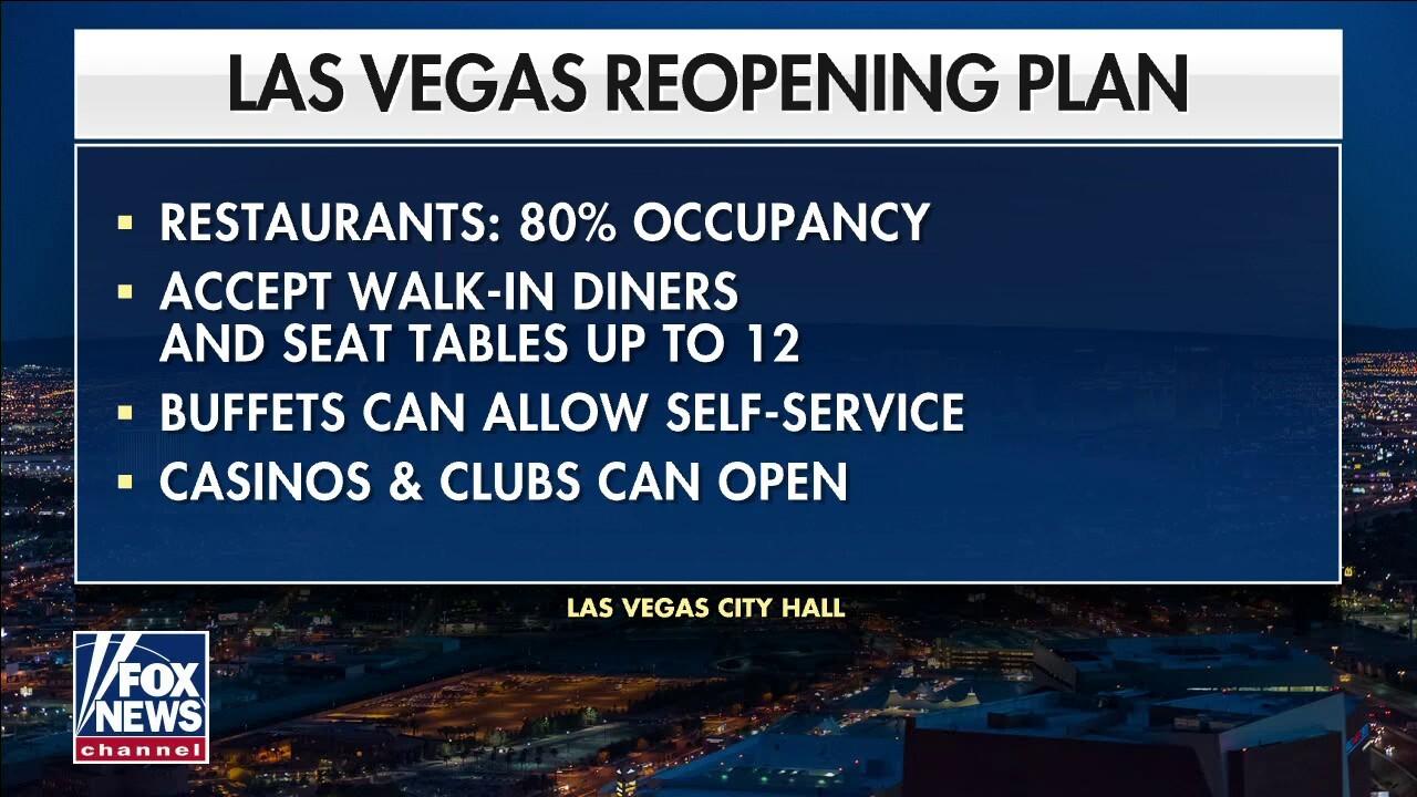 Vaccinated visitors help Las Vegas rebound