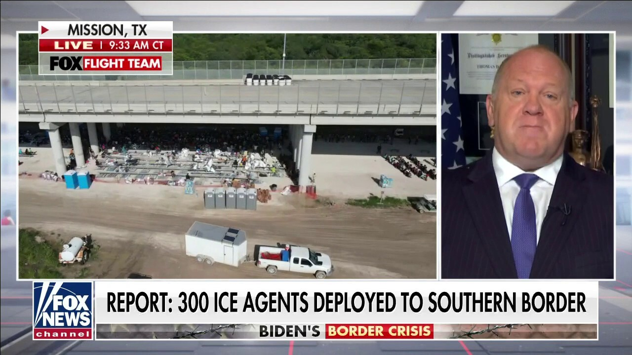 Homan: Biden admin's answer to border crisis is to process and release people quicker
