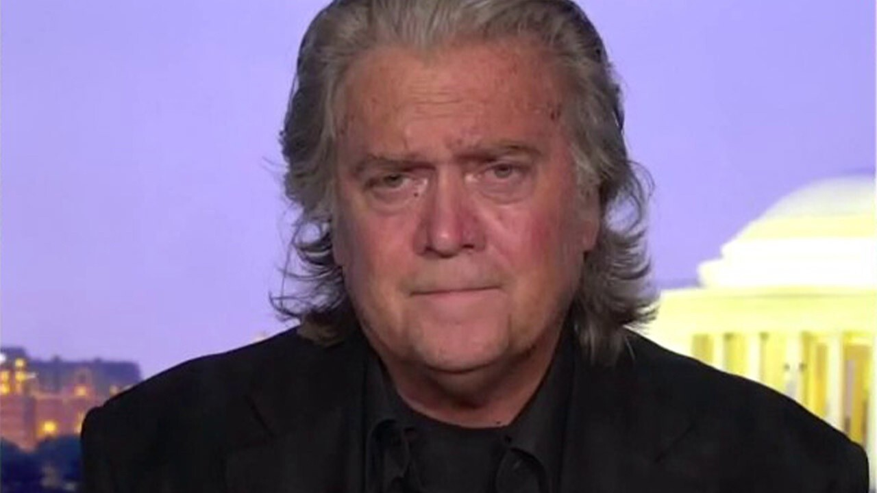 Steve Bannon on fraud charges: 'They're not gonna shut me down'