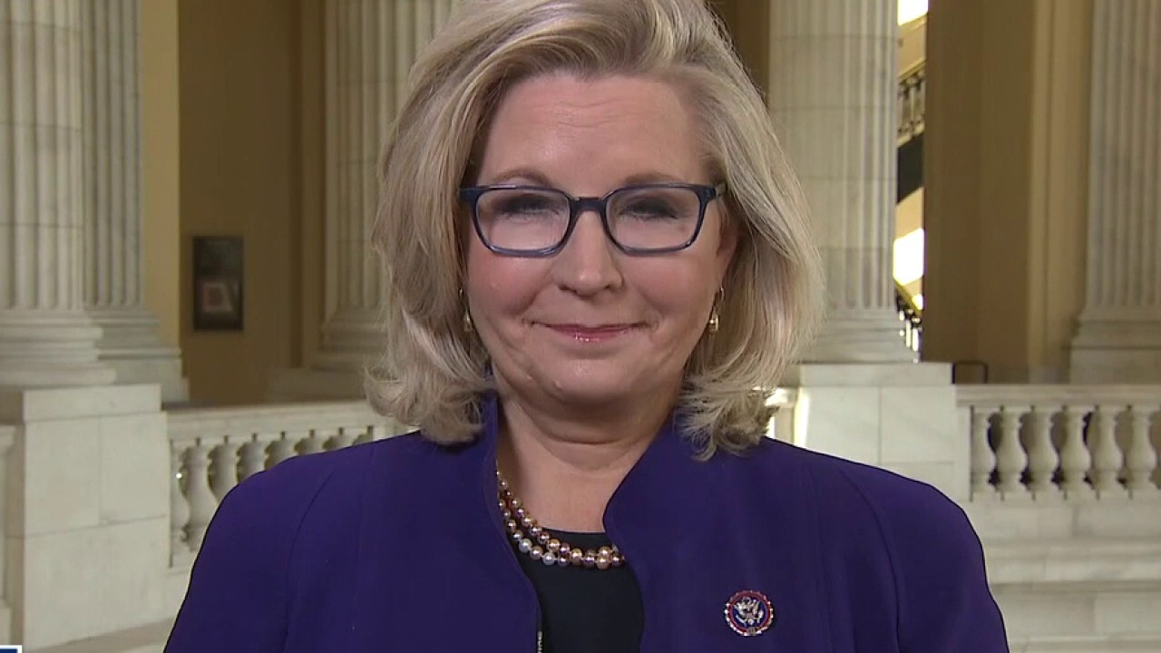 Liz Cheney speaks out in first live interview since being removed from leadership