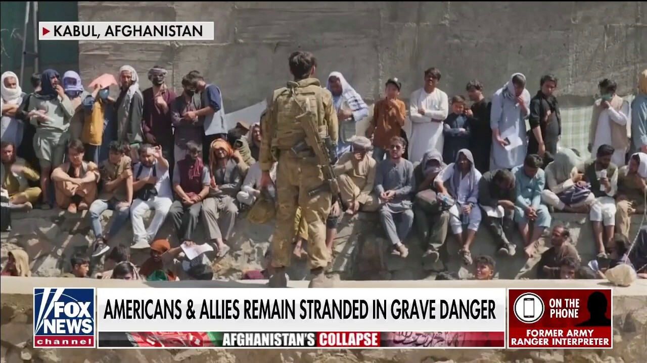 Former Army Ranger interpreter: Taliban already hunting down, hanging people who sided with US