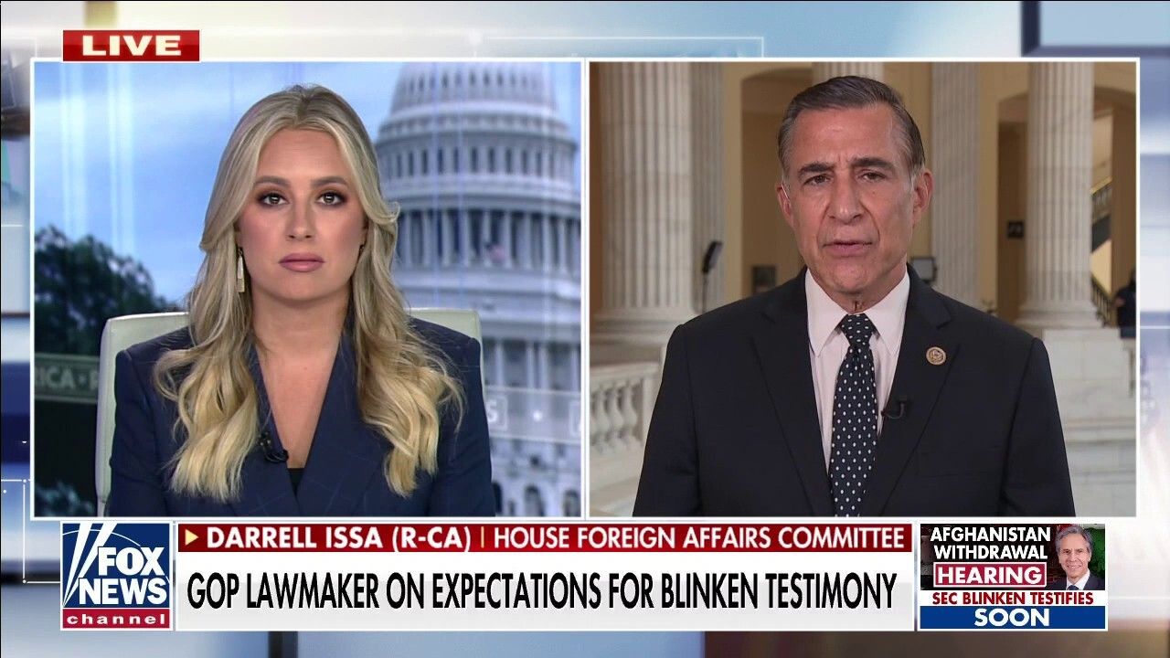 Rep. Issa: 'Great risk' that China will take over Afghanistan regions US previously controlled