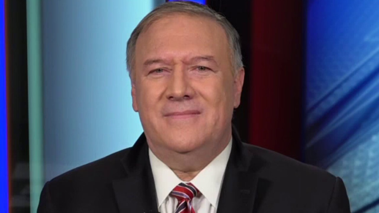 Pompeo urges Iranian dissidents to 'keep up the fight' against hardline regime