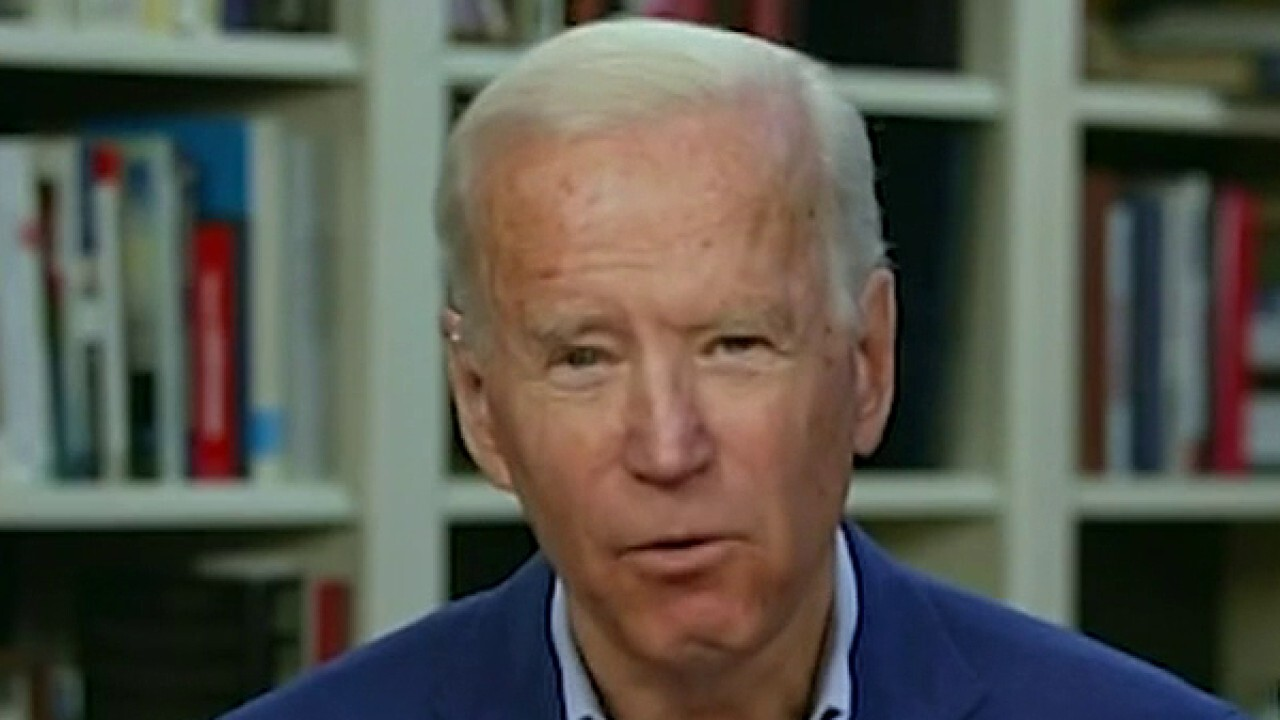 Two top Dem groups team up to boost Biden's challenge against Trump