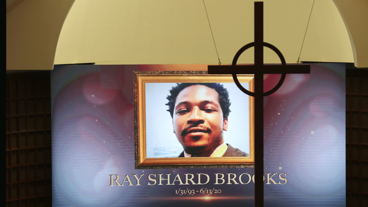 Rayshard Brooks funeral service begins in Atlanta