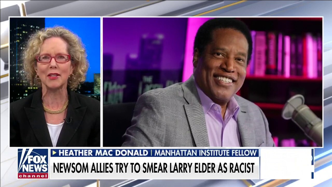 Heather Mac Donald claps back against accusations that Larry Elder is racist